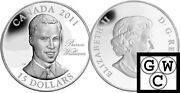 2011 Continuity Of The Crown And039 Williamand039 Proof 15 Sterling Silver 12794