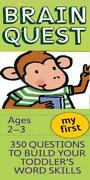 My First Brain Quest - Workman Publishing Company Cor - New Paperback Book