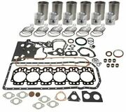 Compatible With John Deere Engine Overhaul Kit 6 Cyl.6.359tand6059t Diesel 300 Se