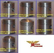 New Piston Set Kit With Rings Ring For Fits Morini Moto Engine Std Complete