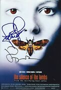 Jodie Foster And Jonathan Demme Signed Silence Of Lambs 8x12 Photo - Exact Proof