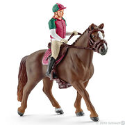 New Schleich 42288 Eventing Horse And Rider - Equine Riding Set - Retired