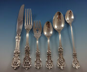 Francis I Reed And Barton Sterling Silver Flatware Set For 12 Service 72 Pc
