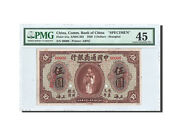 [47761] China, Commercial Bank, 5 Dollars, 1920, Specimen, Pmg Ch Ef45, Km4as