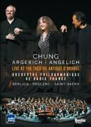 Chung/argerich/angelich Live At The Theatre Antique D'orange New Dvd