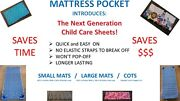 Wonand039t Pop Off New Style Day Care Sheets For Cots And Mats Travel Pillow Case