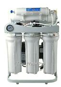 Reverse Osmosis Water Filter 5 Stage System - 400 Gpd Dual Membrane On Stand