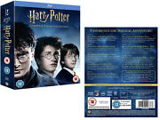 Harry Potter 1-8 2001-2011 Complete 7 Stories/8 Movies - 16x Rg Free Blu-ray