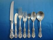Francis I By Reed And Barton Sterling Silver Flatware Set Old Mark 86 Pieces
