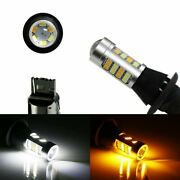 No Hyper Flash 42-smd 7440 Switchback Led Bulbs For Daytime Running/turn Signal