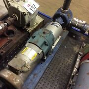 Tri-rotor Pump Model 40a W/ .75hp Motor And 51 Speed Reducer