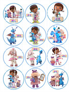 Doc Mcstuffins Edible Cupcake Toppers Free Shipping In Canada