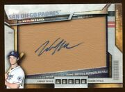 2016 Topps Wil Myers Autograph Auto Sp /25 Leather Super Rare Pulled 2016 Topps