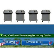 Replacement Battery For Invisible Fence Dog Collar R21/r22/r51/microlite X 4 Pcs