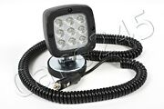 9 Led Working Spot Light Fishing Boat Trailer Yacht Ship Magnetic 15w 7.8m Cable