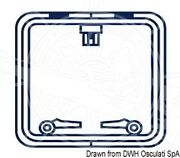 Oceansouth Boat Marine Hatch Protection Cover Square Blue 500x500mm