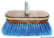 Yachticon Medium Usa-type Brush With Painted Wooden Body And Rubber Buffer
