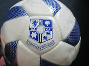 Tranmere 2009-201 Squad Signed Football With Flt Charity Letter