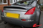 03-08 350z Z33 Ing Style Trunk Spoiler Wing Usa Canada Frp Fits Coupe