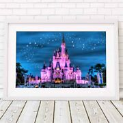 Magic Castle - Disney Princess Poster Picture Print Sizes A5 To A0 Free Delive