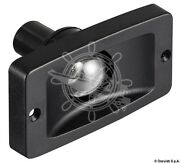 Osculati Watertight Black Abs Body Built-in Stern Light With Lamp Holder 12v 5w