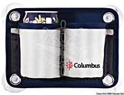 Columbus 2-place Glass Can Holder Pouch 4x Suction Cups