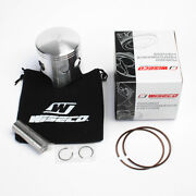 Wiseco Kawasaki Kxt250 Kxt 250 Tecate 3 Piston Kit 70.50mm Bore 1984-1987