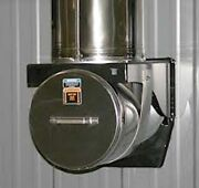 Central Boiler Stainless Steel Tee For 7260 Outdoor Wood Furnace W/cap 11605