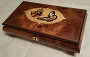 Reuge Music Large Musical Jewelry Box With 18 Nt Mvt- Can You Feel The Love...