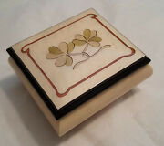 Reuge Musical Jewelry Box With 18nt Mt Celtic Sham- Choose Tune In Item Detail