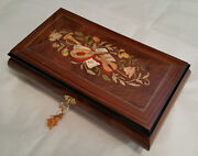 Reuge Large Musical Jewelry Box With 36 Note Reuge Movemen - All I Ask Of You
