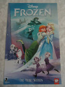 Dark Horse Disney Frozen The Hero Within 2019 Nycc Exclusive Poster Signed