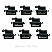 8pc Uce314 For 2003 Chevy Suburban 1500 5.3l 8pcs Ignition Coil Kit D581 Uf271