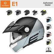 New Schuberth E1 Motorcycle Adventure Helmet   All Size And Colors   Free Shipping