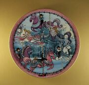 P Buckley Moss The Carrousel Plate Part Of The Carrousel Triptych Plate Mib