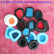 Earpads Ear Cushions Covers For Sades Sa901 Sa902 Sa-903 A60 Wolf Gaming Headset