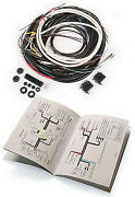 Vw Type 1 Bug Sedan 1954-1955 Complete Wiring Harness For Cars With Semaphores
