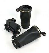 Crown Victoria Marquis Town Car Set Of Rear Air Bags And Suspension Pump Kit New