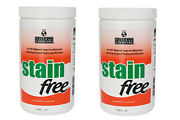 2 Pack Natural Chemistry 7410 Swimming Pool Spa Stain Free Remover - 1.75 Lbs