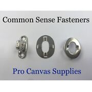 Common Sense Stainless Steel Kit Eyelet Stud Double And Washer 5 Sets