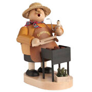 Wooden Standing Grill Master Incense Burner Smoker Made In Germany