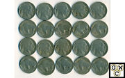 1917 Buffalo Nickels About Good-very Good Lot Of 20 Coins
