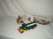 """Nice 1985 Hess """"first Toy Truck"""" Bank In The Original Box Lot U-70"""