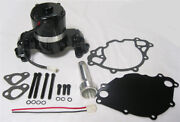 Small Block Ford Electric Water Pump High Volume Black 289 302 351w Sbf W/plate