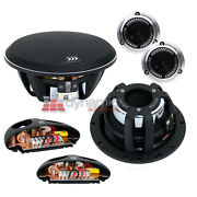 Morel 38 Limited Edition 602 Car Audio 6-1/2 2-way Component Speaker System New