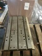34 X 21 X 3 Steel Welding T-slotted Table Cast Iron Layout Plate Jig_3 Slot