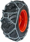 Quality Chain Duo282 10mm Duo Grip H-pattern Tractor Tire Chains Snow Traction