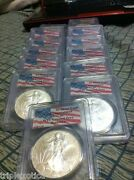 2001 Pcgs Wtc Recovery 1 Of 1440 American Silver Eagle Rare Five Coins