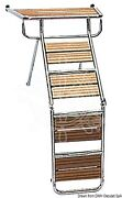 Osculati Platform Gangway Ladder With Iroko Grid And Mounting Accessories 140cm