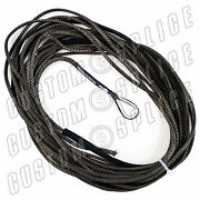 50' X 3/16 Amsteel Blue Mainline Synthetic Winch Rope Line Cable Atv Charcoal